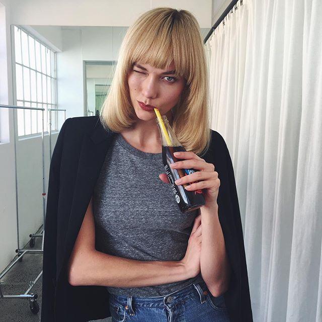 12 Best Celebrity Bangs Hair Inspo | StyleCaster