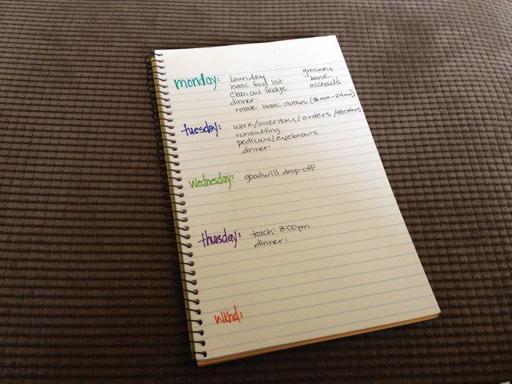 Diy Calendar Agenda : Best diy planner images on pinterest organizers