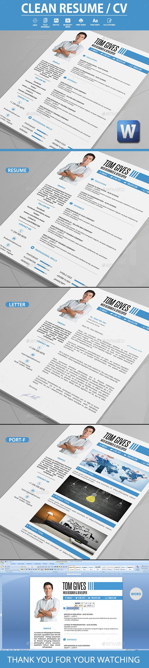 Modern Resume Format%0A Clean  Resume  Resumes Stationery