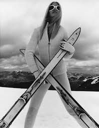 vintage ski postcard megeve - Поиск в Google