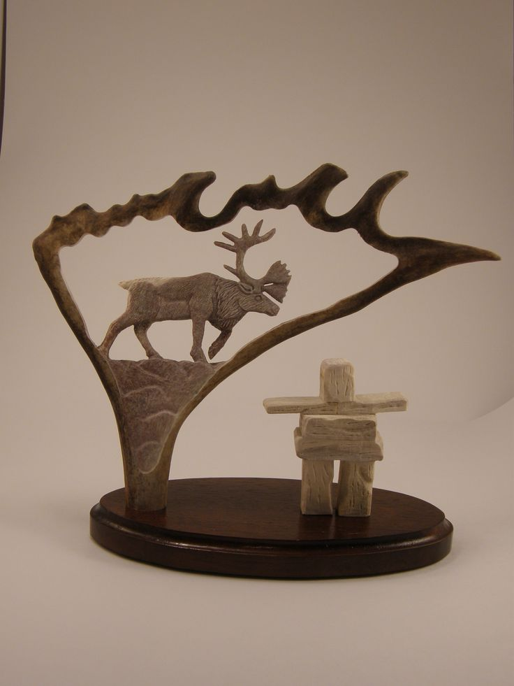 843 Best Images About Antler Carving On Pinterest