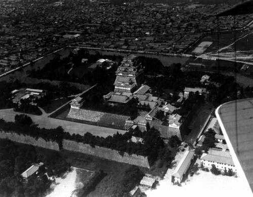 名古屋城(第二世界対戦前の写真)