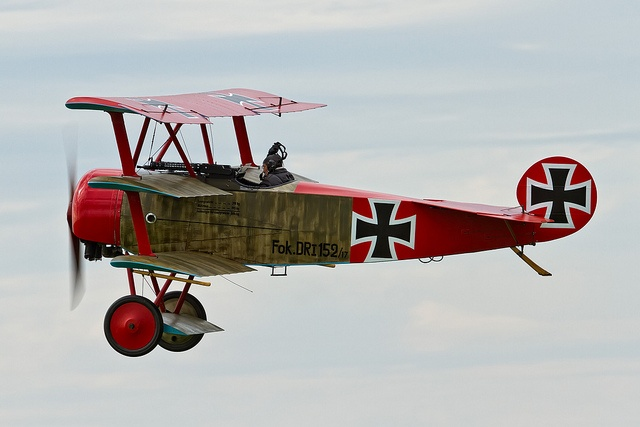 Fokker Dr.I Triplane--Airplane of choice for Baron Manfred Von Richthofen (The Red Baron)