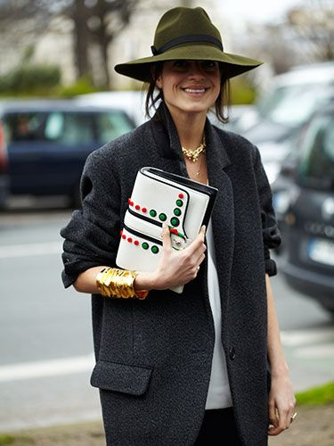 Paris Fashion Week 2014 Street Style - Marie Claire PIERRE HARDY BAG: