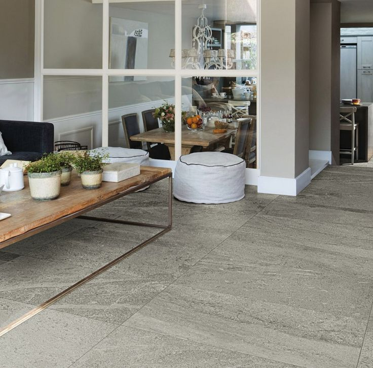 Blendstone Grey combines the unique looks of granite and marble in a durable porcelain #tile | Heritage Tiles www.tiles.co.nz #deisgn #living #tiles #interior_design