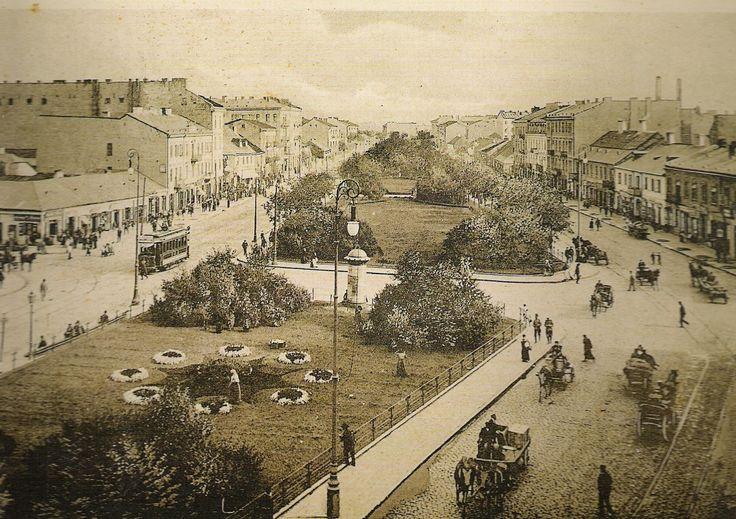 Ulica Targowa na Pradze