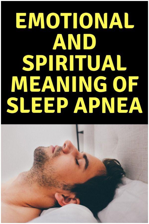 Sleep Apnea | Spirituality | Spiritual meaning, Sleep apnea