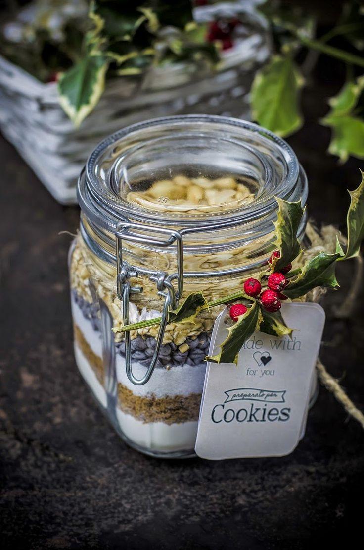 Preparato per cookies al cioccolato, fiocchi d'avena e arachidi