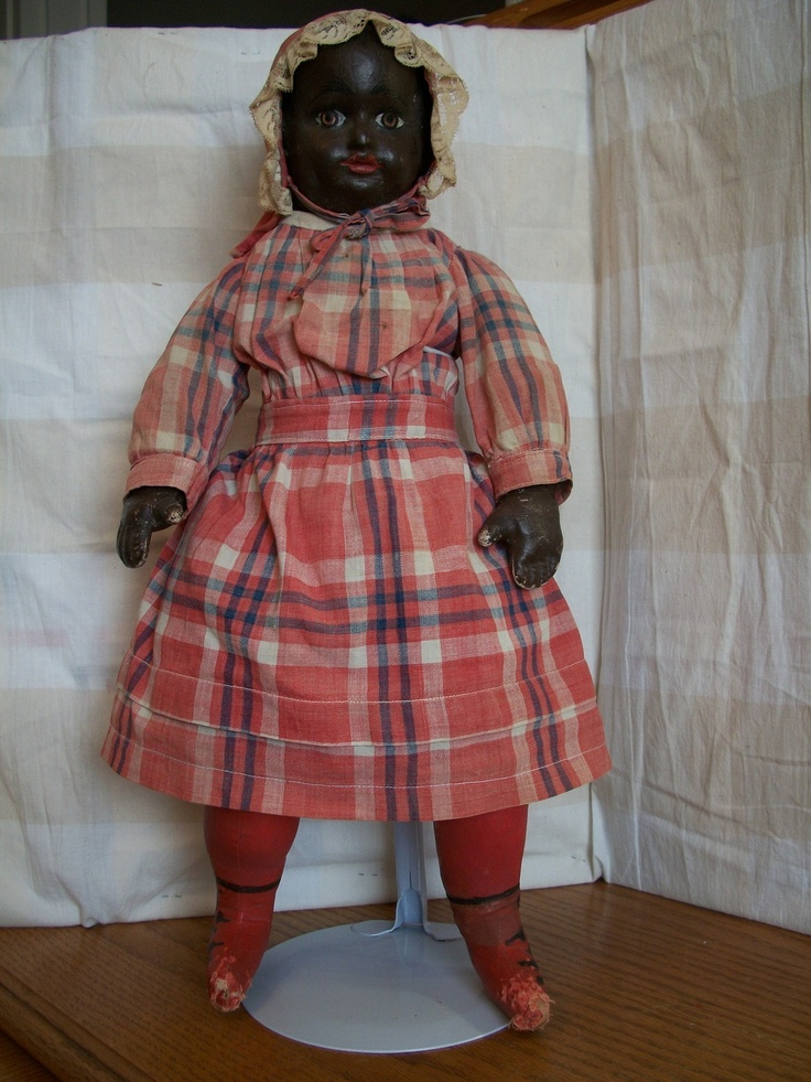 Black Alabama Baby by Ella Smith Doll Co Made in 1905 in Alabama Very RARE | eBay