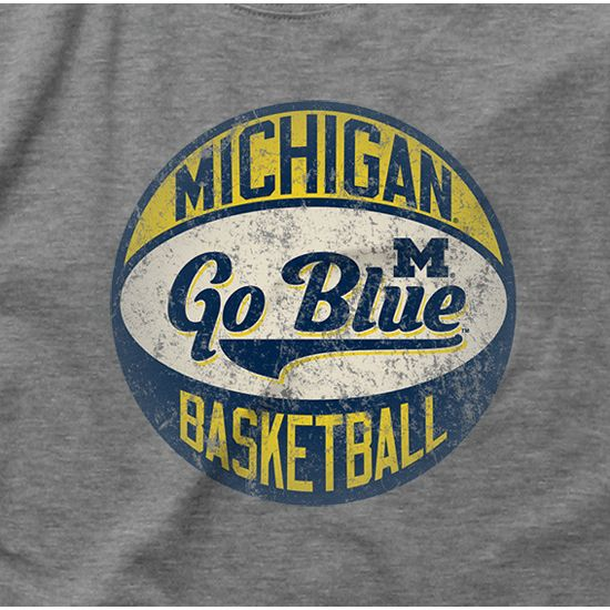 Michigan Basketball t-shirt from the mden.com