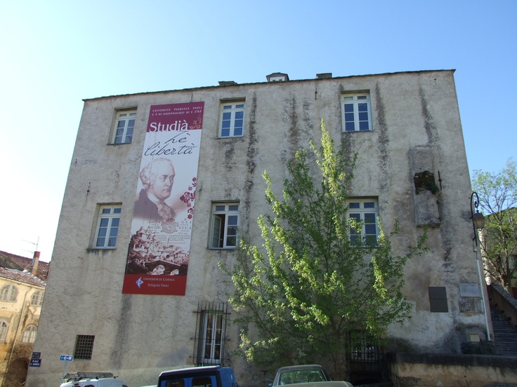 Université de Corse, Palazzu Naziunale