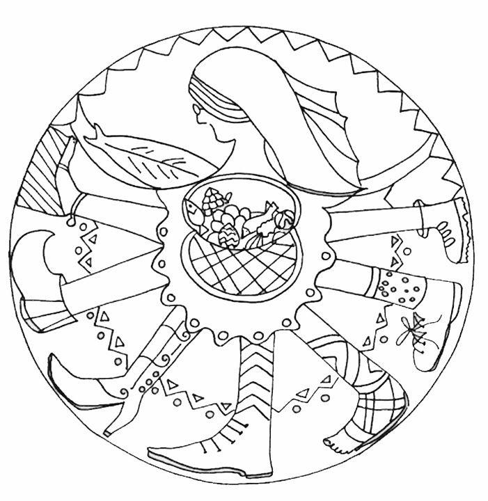 LA VELLA QUARESMA Mandala