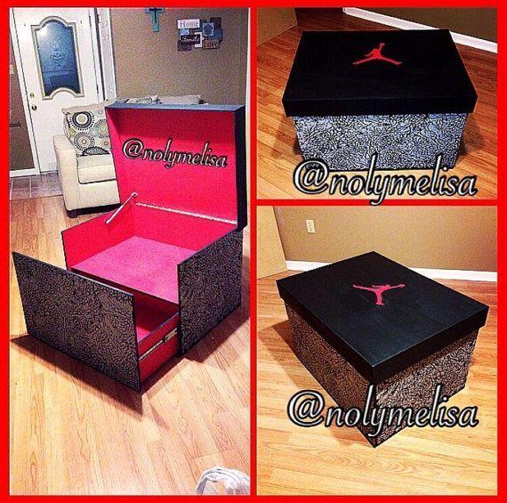 Jordan Shoe Box Drawer For Sale