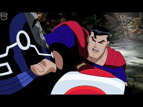 Superman vs Darkseid & Brainiac - YouTube
