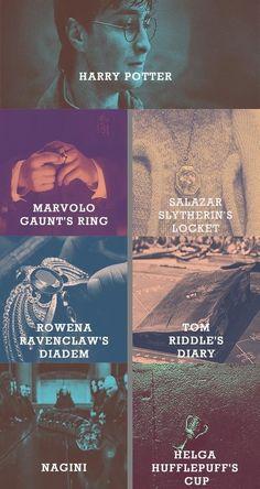 The seven horcruxes