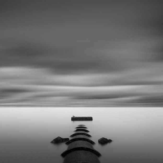 Gavin dunbar edinburgh based photographer focuses mainly on seascapes and minimalist subjects in long exposure black and white images