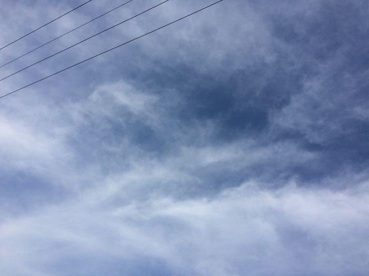 2017년 8월 2일의 하늘 #sky #cloud