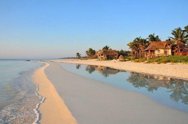 Один из самых чистых пляжей, Тулум, Мексика