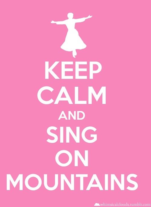 I love this! Mountains seem like a wonderful stage!