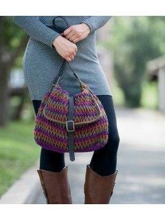 Perspective Crocheted Purse Pattern   $5.50 InterweaveStore.com