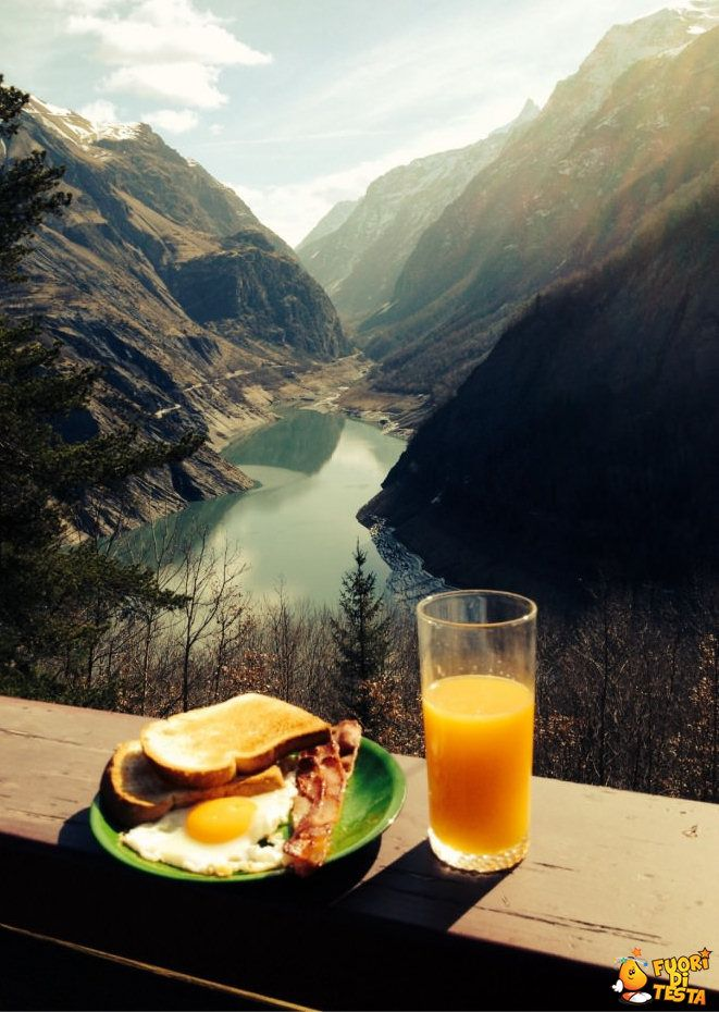 The best #breakfast of my life :) #nature #landscape #juice #world #life