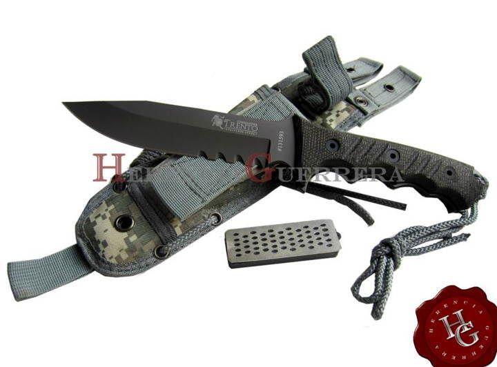 Cuchillo Trento Commander — Herencia Guerrera