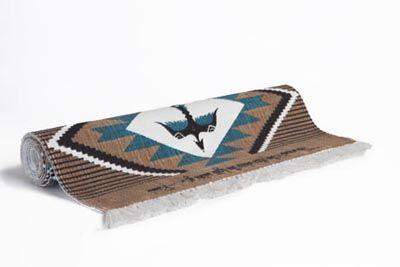 Back in stock!  Navajo Travel Yoga Rug #laviebohemeyoga