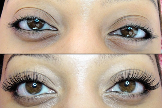 lash extension by Linda Tical of Goddess Lashes