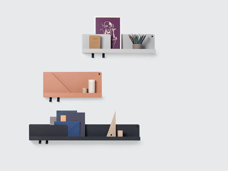 Lovely FOLDED: A Wall Storage System To Organize U0026 Display Everyday Items