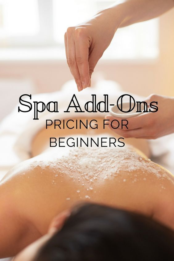 Based off these three spa clients, the type of customer and her goals will play an important role regarding the way you market any spa add-on.