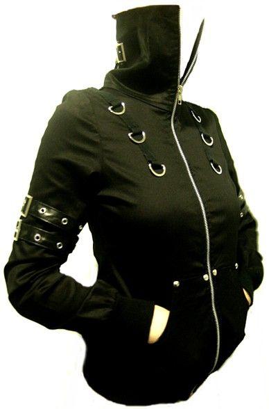 Bomber Cyber Punk Rocket jacket by Tokyo Gems Boutique #cyberpunk #goth #industrial #rivethead