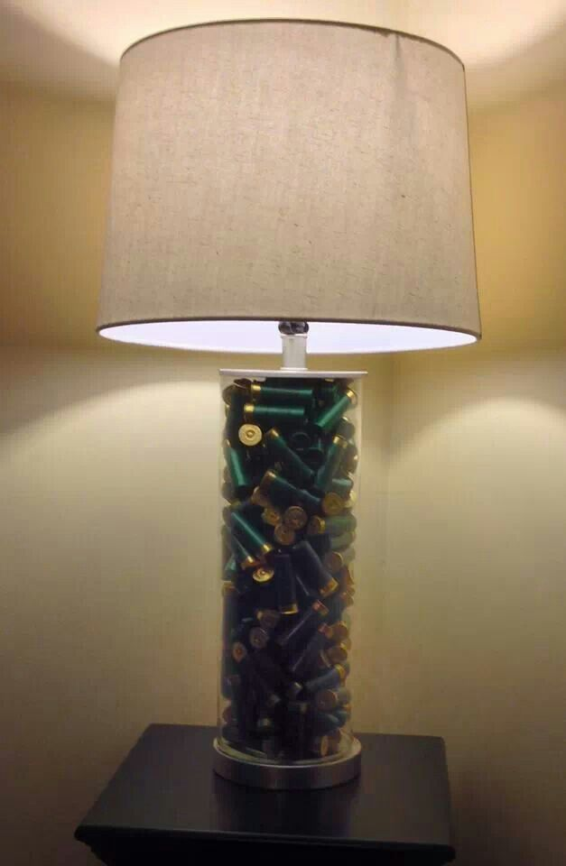 Shotgun Shell lamp