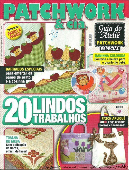 Patchwork & cia. 2011/3