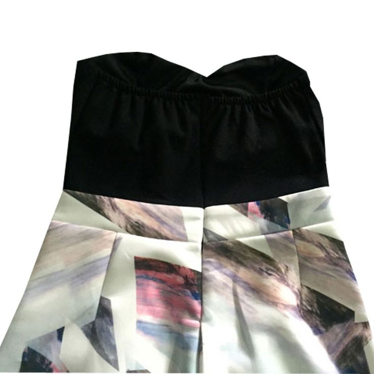 2015 yaz yeni bayan ebru siyah korse asimetrik göğüs pedi Bra Siyam Culottes var - Taobao