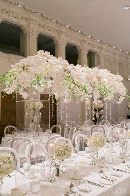 mariage de luxe la décoration mariage blanc mariage luxe mariage ...