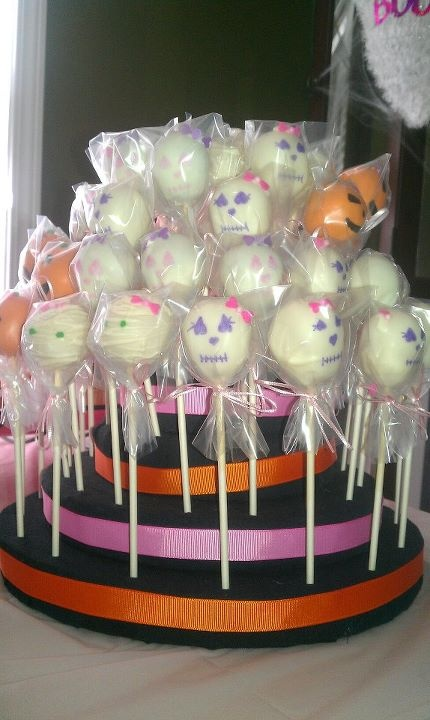 Halloween Pops For A Baby Shower