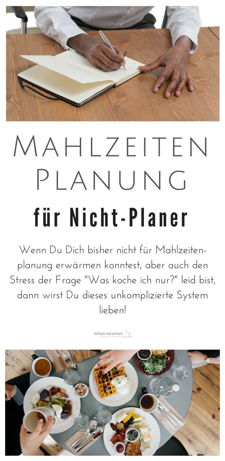 Mahlzeitenplanung für Nicht-Planer – einfach, unkompliziert & mit kostenlosem Schnellstart-Set