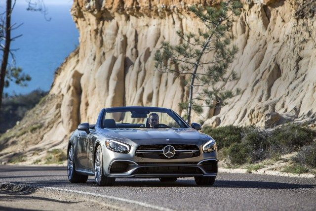 2017 MERCEDES-BENZ SL FIRST DRIVE REVIEW