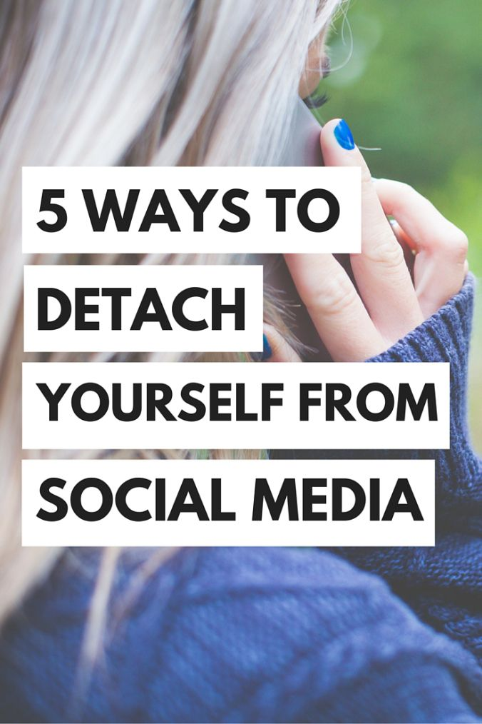 Learn how to step away from the phone and into your life with these 5 ways to stay away from social media!