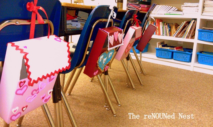 Please bring your cereal boxes to me - Valentine Mailboxes - So easy! I would definitely do this project.