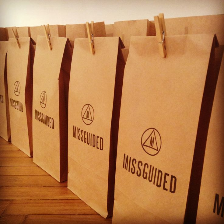 Gift bags at Missguided SS14 Press Day