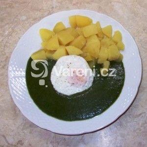 Fotografie receptu: Jemný špenát