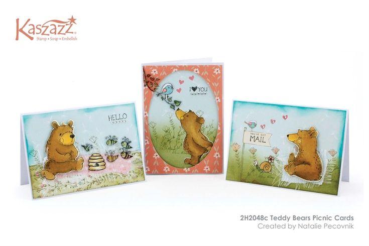 2H2048c Teddy Bears Picnic Cards