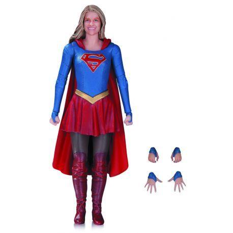 Figurine Supergirl de la série Tv Supergirl articulée taille env. 18 cm, en emballage blister.
