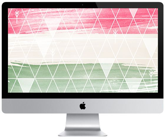 Deck your tech with our festive new December 2014 desktop wallpaper! via Nicolesclasses.com