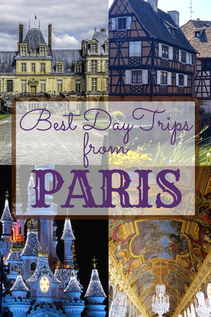 Best Day Trips from Paris - If you are planning a longer vacation in Paris we recommend you get out of the city and explore a completely different side of France with quaint French villages, castles, and breathtaking nature.