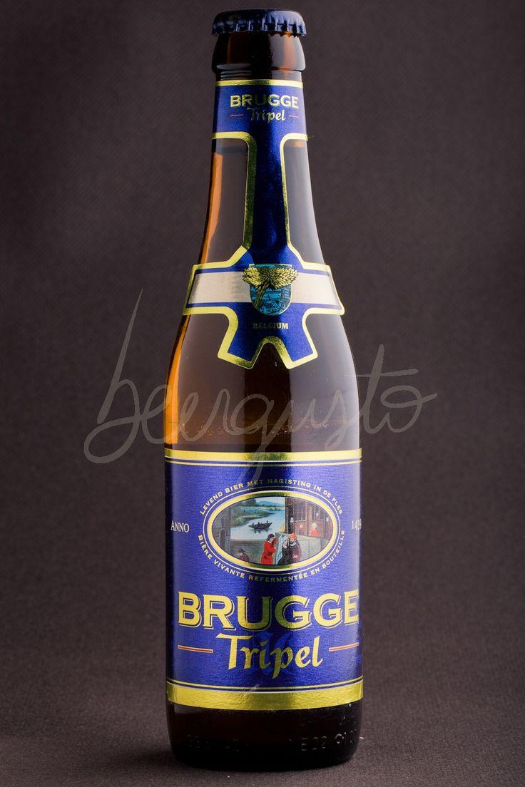 Local Beer from Bruges ... the 'Brugge Triple'  http://www.hotelnavarra.com/en/info/1423/Beer-package.html