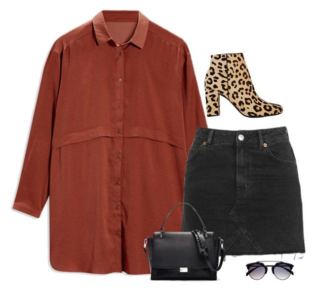 Demons by amazeinstyle on Polyvore featuring polyvore Topshop Yves Saint Laurent Elizabeth and James fashion style clothing