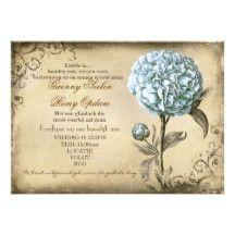 De vintage Uitnodigingen van het Huwelijk van de | Zazzle