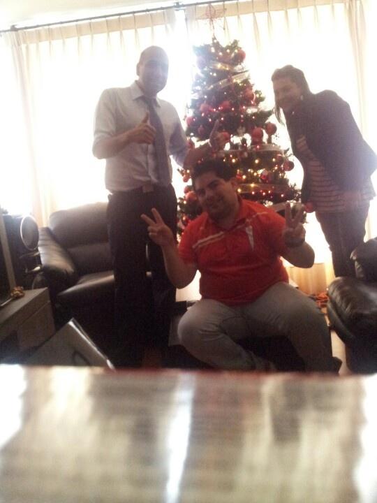 Árbol de navidad. Agradecimientos a Daniela y Sergio :-)